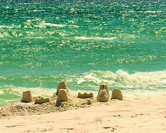 Sandcastle Memories by Sharon Woerner