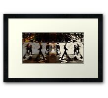 Where do we come from and where do we go? Framed Print