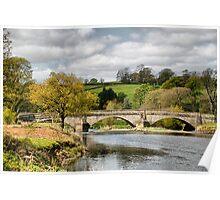 The Bridge at Sawley . Poster