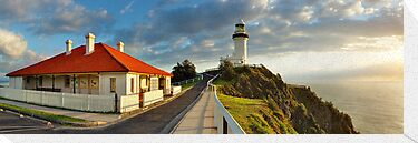 Cape Byron Lighthouse, New South Wales, Australia by Michael Boniwell