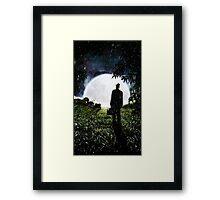 The Little Observer Framed Print