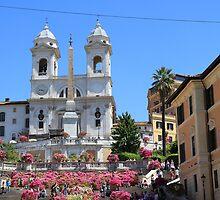 Santa Trinita dei Monti, Roma by Ben Fatma Marc