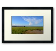 View on Audresselles Framed Print