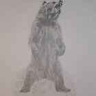 Growling Bear by Russell Winmill