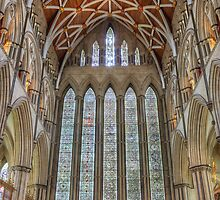 York Minster North Transept by Devereux Purdon