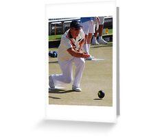M.B.A. Bowler no. a334 Greeting Card