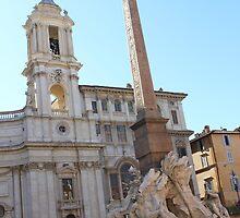 Fontana dei Quattro Fiume, Roma by Ben Fatma Marc