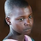 Maasai school girl by Linda Sparks
