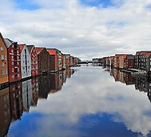 The River in Trondheim II by julie08