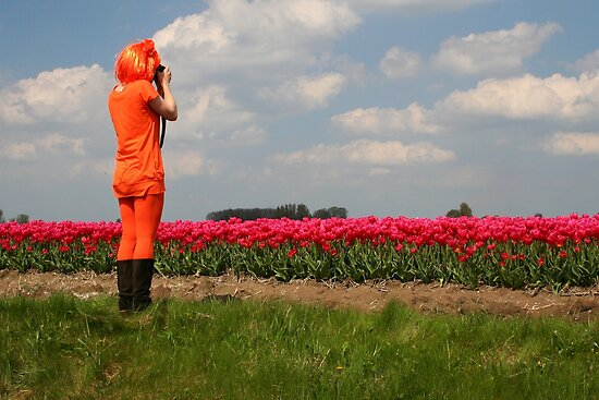 Queens Day in Holland by Jo Nijenhuis