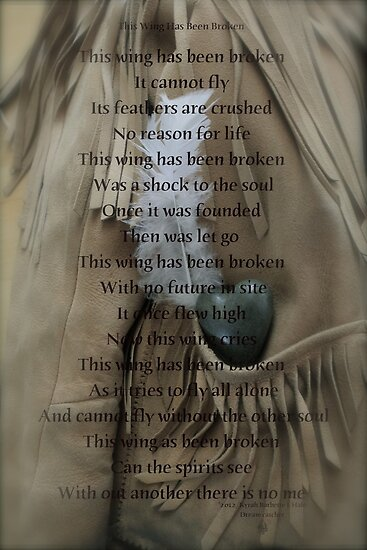 This wing has been broken by DreamCatcher/ Kyrah Barbette L Hale