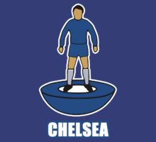 Chelsea Subbuteo Player by confusion