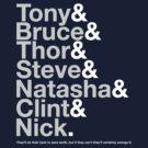 Avengers Team Jetset by huckblade