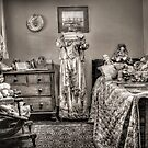 The Governess&#x27;s Room ~ sepia by Rosalie Dale