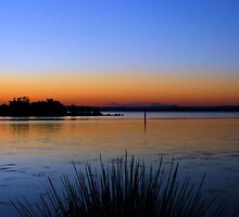 Tuggerah Lakes Sunset  by Nickie
