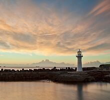 Light Me Up - Wollongong NSW by Malcolm Katon