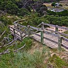Boardwalk at Forrest Caves Phillip Island by PhotoJoJo