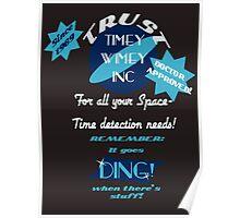 Timey-Wimey Inc Poster