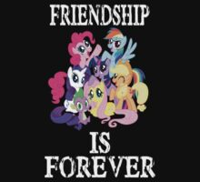 Friendship is forever [white text] by wittlewoona