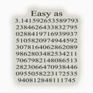Easy as Pi  by Ryan Houston