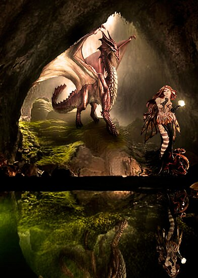Dragons Slave by Andrew (ark photograhy art)