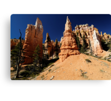 The Spires of Bryce Canvas Print