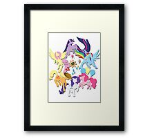 Circle of Friendship Framed Print