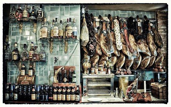 Spanish Bar in Madrid by Wendy  Rauw
