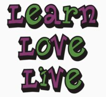 Learn Love Live by Nimi
