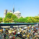 love-locked in paris by kchamula