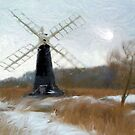 Waveney Windmill'... by Valerie Anne Kelly