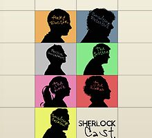 Sherlock - CAST by KanaHyde