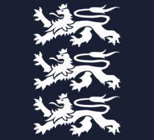 3 Heraldic Lions by grafiskanstalt