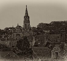 Swanage Church by David J Knight