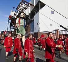Liverpool - Sea Odyssey - Giant Spectacular - Little Girl Giant outside Anfield (1) by Fotopia