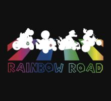 Rainbow Road - Beatles (with font) by SkinnyJoe
