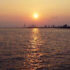 Sunset by Patricia Gavra