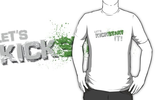 Kick start it! by Scott Coleman