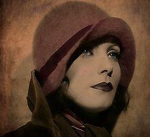 Greta Garbo by MarieG