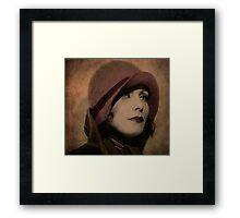 Greta Garbo Framed Print