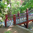 Crim Dell Bridge III by Jennie L. Richards