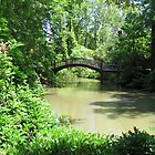 Crim Dell Bridge I by Jennie L. Richards