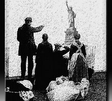 Ellis Island by Richard  Gerhard