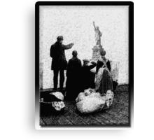 Ellis Island Canvas Print