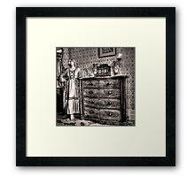Bedroom cameo ~ Monte Cristo, Junee (NSW) Framed Print
