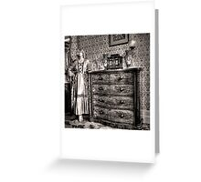 Bedroom cameo ~ Monte Cristo, Junee (NSW) Greeting Card