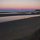 Sandgate Foreshore at Dusk by PhotoJoJo