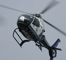Austin Police Helicopter Overhead by Navigator