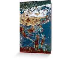 lovers afternoon stroll Greeting Card