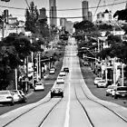 Melbourne Roads by John Violet
